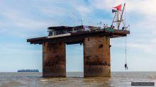 Sealand, a plataforma de guerra que virou o 'menor país do mundo'