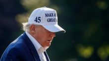 Trump criticises Reagan Foundation after request to stop using late president's image