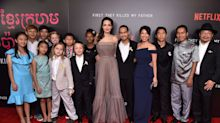 Angelina Jolie goes glam for first 'They Killed My Father' premiere in NYC with all 6 kids