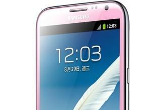 Samsung Galaxy Note II gets pretty in pink, makes Hello Kitty proud