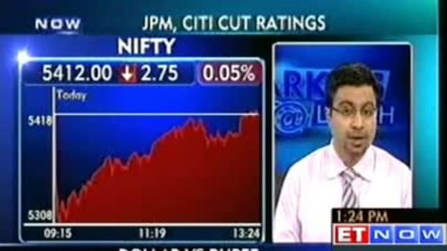 Citigroup cuts Sensex target, downgrades banks