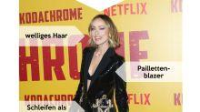 Look des Tages: Olivia Wilde glitzert in Schwarz