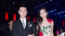 Angelababy wears her five-carat US$1.6m ring on new promotional poster