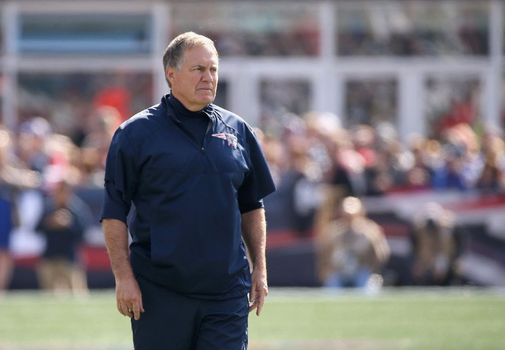 Last season New England Patriots coach Bill Belichick  complained about the tablets during his team's AFC Championship defeat to the Denver Broncos, a glitch later attributed to a network malfunction
