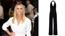 Amanda Holden wore her favourite black jumpsuit on holiday - and it's still available to buy