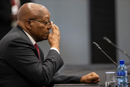 Image result for South Africa's Zuma, back at inquiry, says his life is in danger