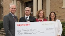 ExxonMobil Donates $50,000 to Family Compass to Build Healthy Families