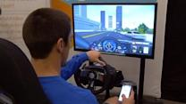 Simulator shows dangers of texting while driving
