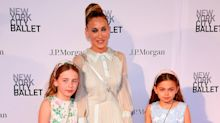 'With my gals': Sarah Jessica Parker makes rare appearance with twin daughters at NYC gala