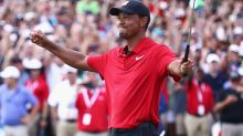 Sporting world erupts over Tiger Woods' incredible victory