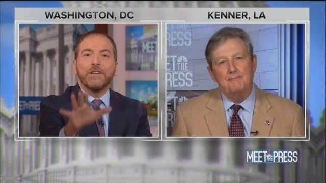 Chuck Todd to GOP Senator: You're Selling the Same Argument as Putin!