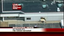 SUV hits Arby's in Wexford Plaza