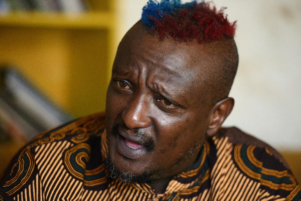 Binyavanga Wainaina, pictured in an AFP interview in January 2014, shortly after he declared that he was gay