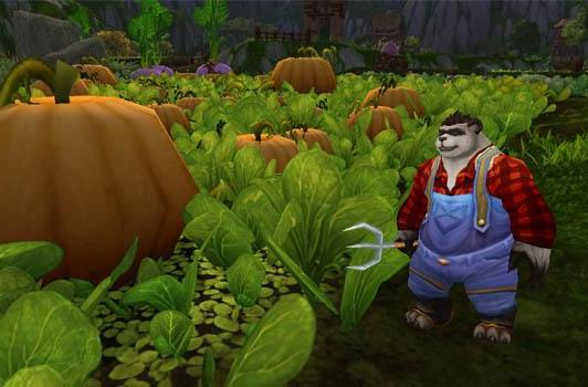 Warlords of Draenor: Transmoggable farm implements
