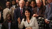 Nikki Haley claims otherwise innocuous Confederate flag was 'hijacked' by killer