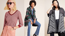 Stock up on fall wardrobe staples with Anthropologie's extra 40% off sale event