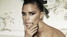 Victoria Beckham tests out all of her Estée Lauder products on herself