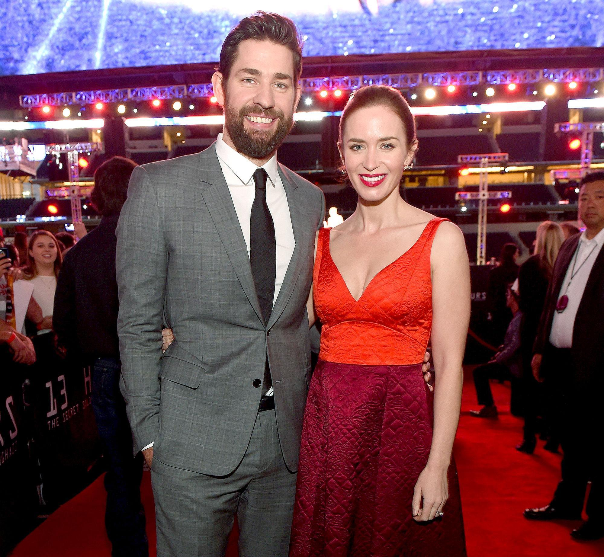 Emily Blunt Is Pregnan...