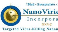 NanoViricides, Inc. Welcomes Dr. Irach Taraporewala as the New CEO