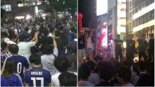 【有片】日本隊出線 渋谷、道頓堀大量球迷慶祝
