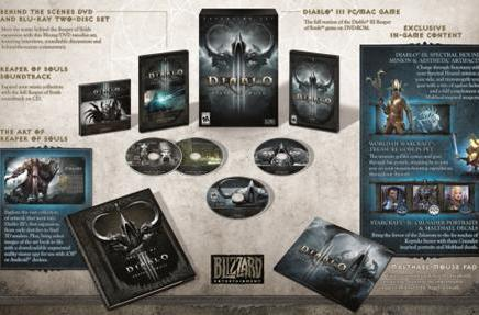 Here's what's in D3's Reaper of Souls CE