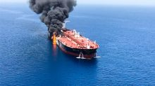 Oil rallies after apparent attack on tankers near Strait of Hormuz, but finish off session high