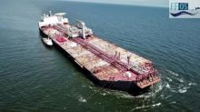 Tilting Venezuela oil tanker threatens 'environmental catastrophe'