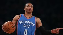 Russell Westbrook is now officially averaging a triple-double