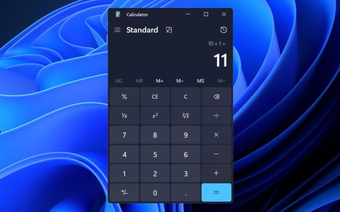 Calculator Windows 11