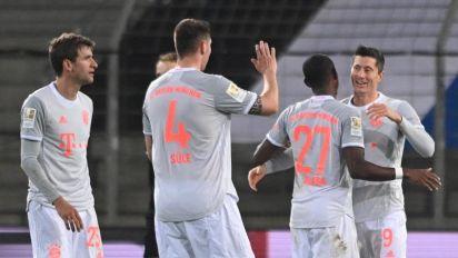 Un Leipzig apaleado arriesga liderato ante el Gladbach y el Bayern acecha