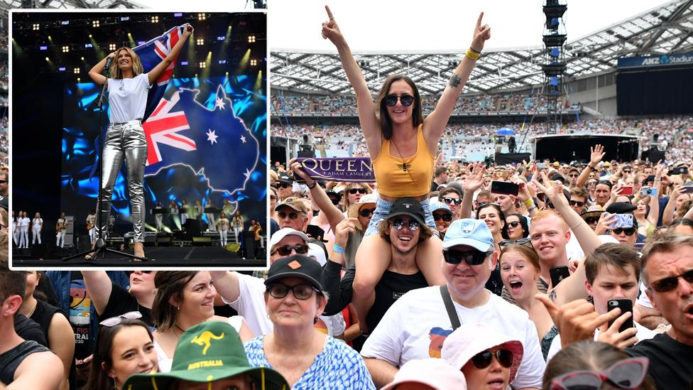 'Breathtaking': Thousands attend star-studded mega concert for bushfire relief