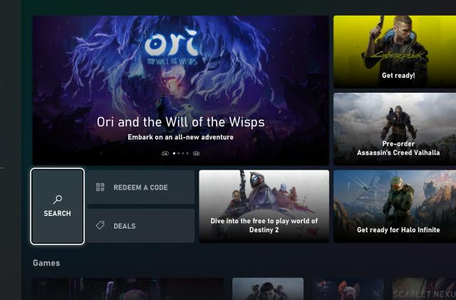 Xbox testers can access a new store experience and game activity tab