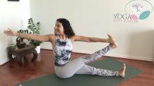 En 3 minutos estas posturas de yoga te pueden aliviar la tensión en las piernas
