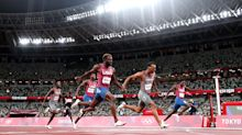 Canada wins Olympic gold, U.S. takes silver, bronze in men's 200m