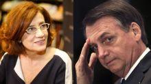 Globo se posiciona contra Jair Bolsonaro em defesa de Míriam Leitão