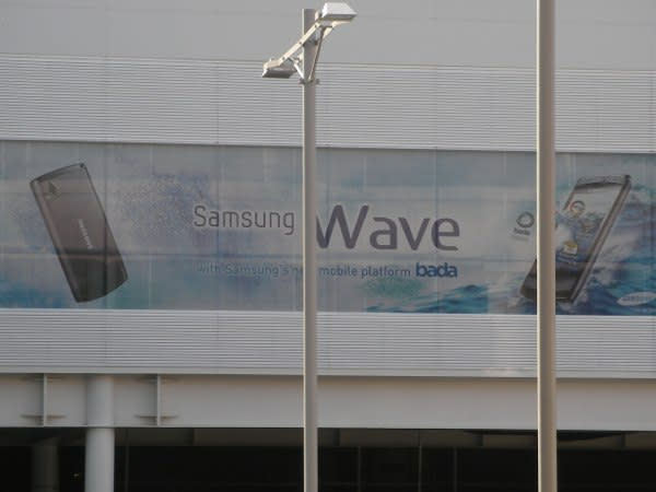 Samsung Wave launching Bada onto its very first handset at MWC