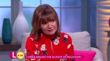 Lorraine Kelly chats about THAT controversial Corrie scene