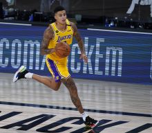 Kyle Kuzma lifts Lakers past Nuggets with last-second shot, snaps three-game losing streak
