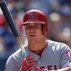 "6'2"": Mike Trout, Los Angeles Angels, CF"