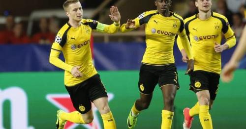 Foot - C1 - Le but de Marco Reus qui relance Dortmund à Monaco, en vidéo