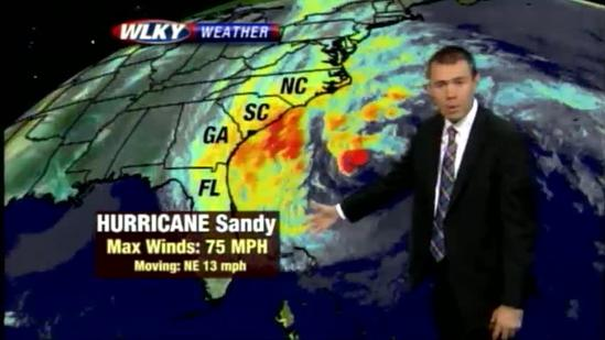Hurricane Sandy Forecast