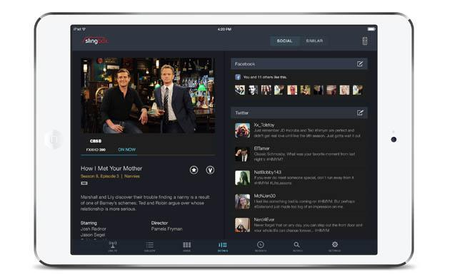 Sling overhauls its TV-streaming app for iOS, adds Roku channel; Windows 8.1 app planned for December