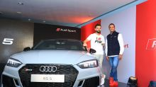 Kohli Launches Second Generation Audi RS 5 Coupe in India