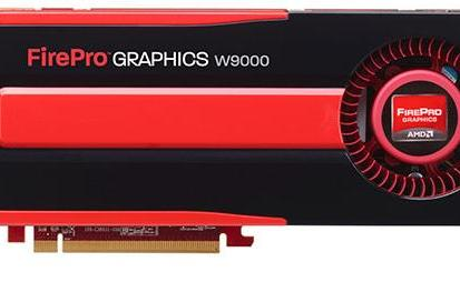 AMD announces $4k FirePro W9000 GPU, entry-level FirePro A300 APU for CAD and graphics pros