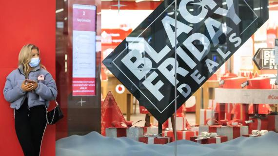 Black Friday online shopping surged over 21% amid pandemic