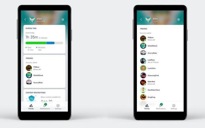 Xbox Family Sharing App