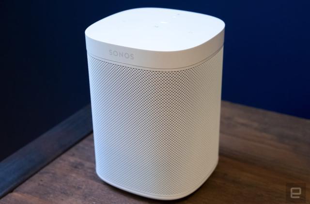 Sonos One speaker now packs more powerful internals