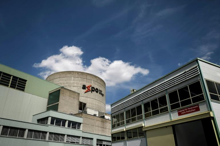 The Beznau plant is a touchstone of the heated debate about nuclear safety in Switzerland (AFP Photo/Fabrice COFFRINI)