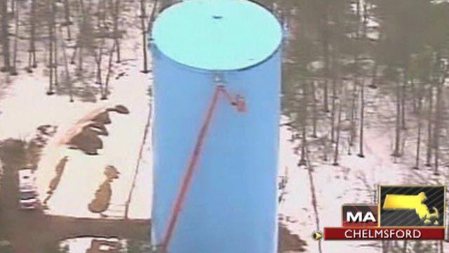 Across America: Dramatic rescue 125 feet above ground