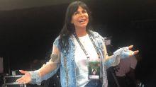 Rock in Rio: Gretchen canta e dança com banda gaúcha e esquece Ivete